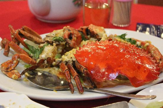 Lucky Seafood Restaurant : Salted Cheesy Crab