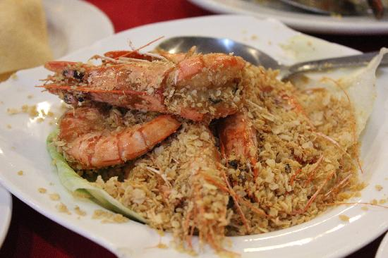 Lucky Seafood Restaurant : Cereal Butter Prawn