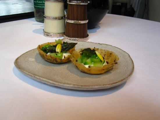 The Ledbury: Amuse bouche