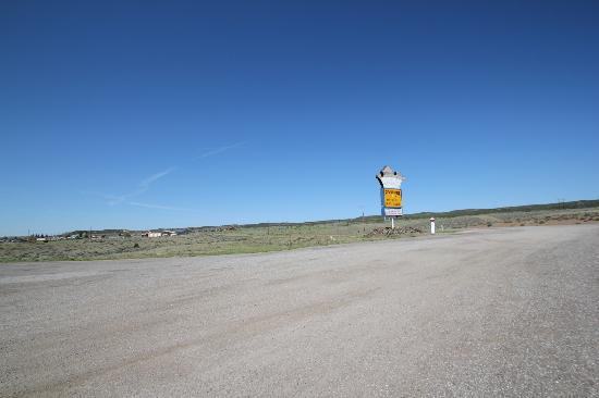 Cactus Cowboy: L'enseigne du resto au bord de la route 89