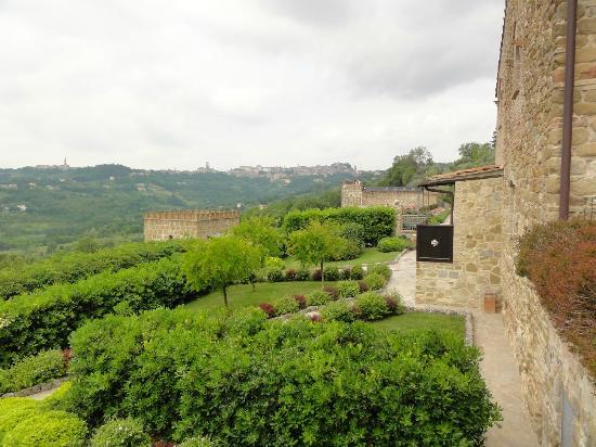 Castello di Monterone: Zicht op Perugia