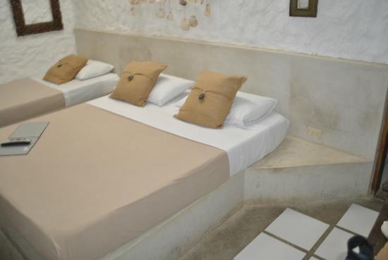 Posada Mediterraneo : chambre