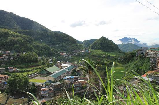 Banaue Homestay: view from the roadside
