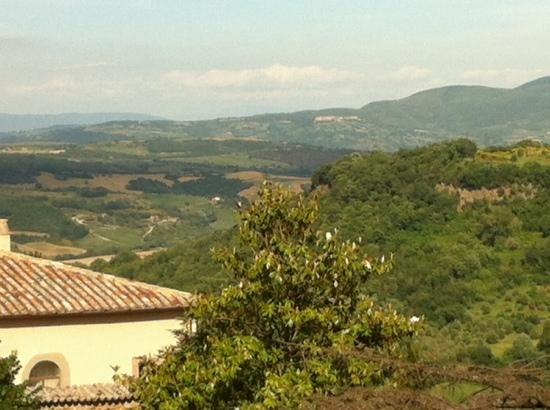 Villa Mercede : view from bathroom