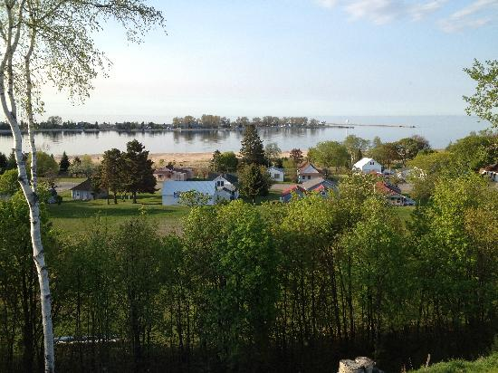 The Voyageurs Motel : All the rooms have this beautiful view.