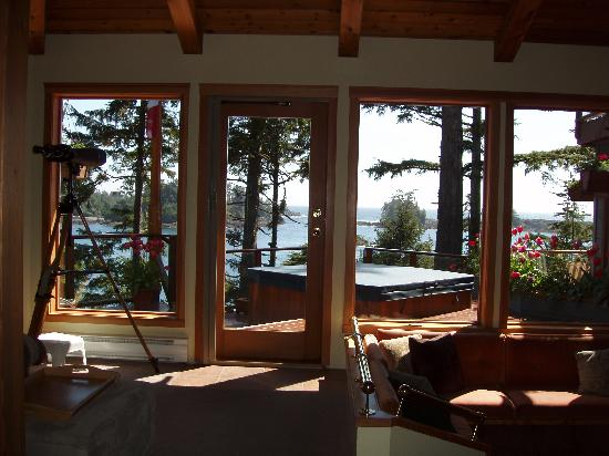 A Snug Harbour Inn: View from the Great Room