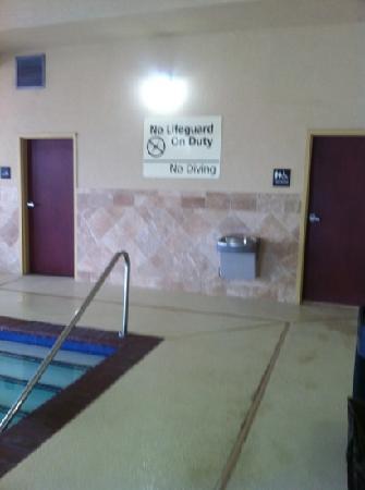 Hampton Inn & Suites Oklahoma City-South: entry to pool