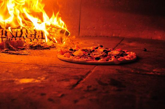 Wood Fired Oven Picture Of The Real Italian Pizza Co Bath