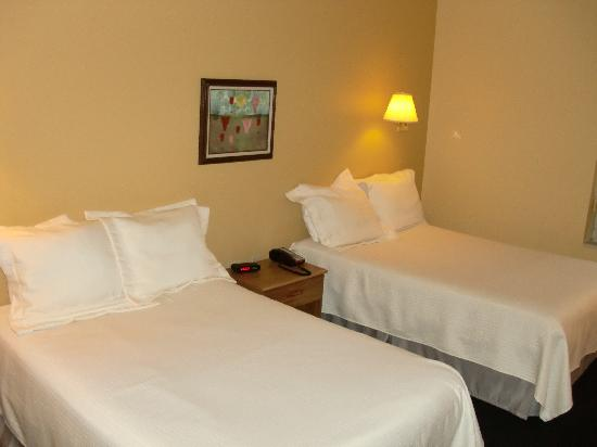 NADA Hotel and Conference Center: Each Room has two double beds