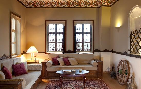 Fresco Cave Suites/Cappadocia: Sarı Oda Room
