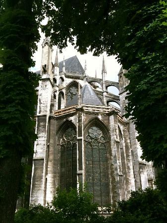 St. Ouen's Abbey: South ambulatory
