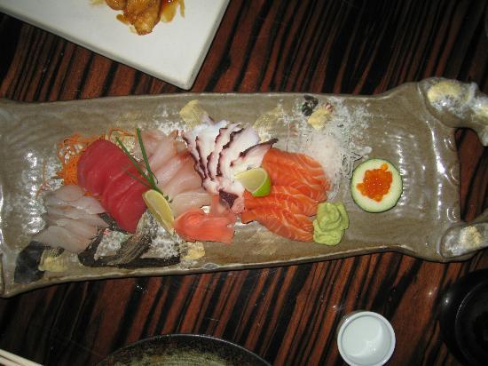 Matsuri: Sashimi plate