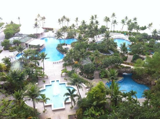 Hyatt Regency Guam: 괌하얏트 수영장 완전예술