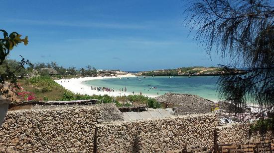 Aquarius Club: Vista sulla spiaggia