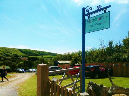 Mitchum's Campsites: Mitchums Village Site Entrance