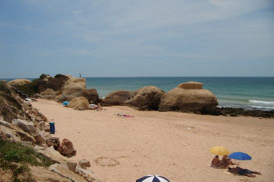 Praia Gale : Plenty of space to stretch out.