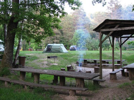 Camping Sigulda Beach: Campsite