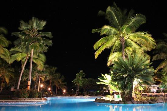 Sofitel Fiji Resort & Spa: Black night sky with stars and stars and stars