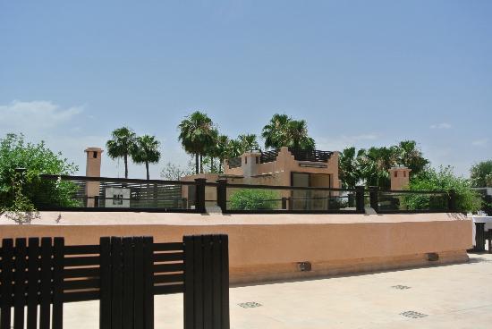 Villa Makassar: terrace