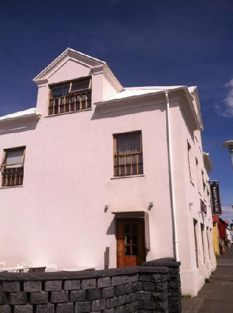 Gamla Kaupfelagid: bistro building