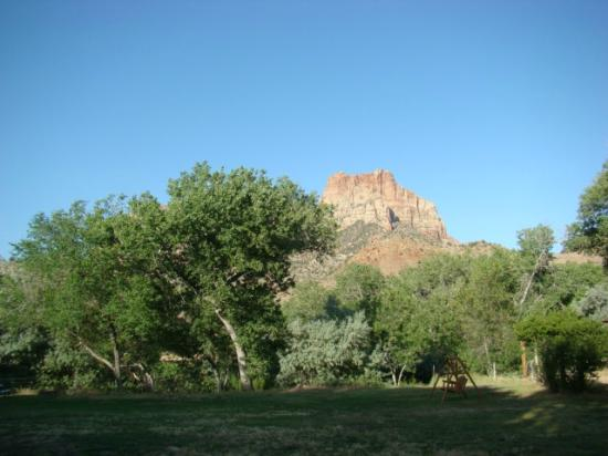 Canyon Vista Lodge - Bed & Breakfast: Views from the yard