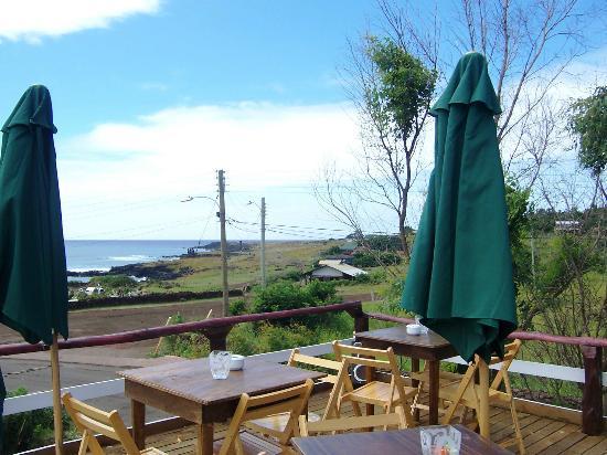 Restaurant Manuia: vista desde la terraza