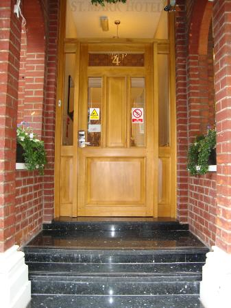 St. Mark Hotel: Main Door