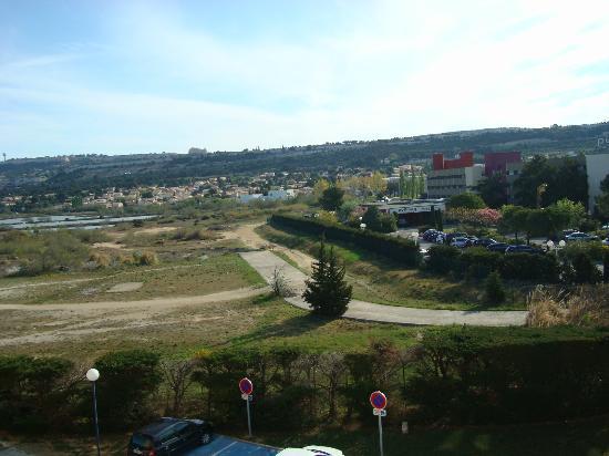 Ibis Budget Marseille Vitrolles : Вид из окна