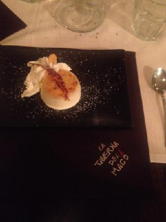 La Taverna del Mago : semifreddo alle mandorle caramellate...