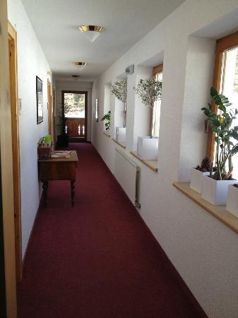Pension and Landhaus Steinkogel: corridor