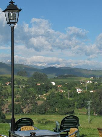 Hotel- Spa Verdemar: Vista del territorio desde la terraza del Restaurante
