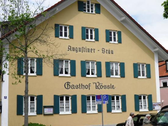Bad Worishofen, Niemcy: Blick auf das Gasthaus 06/2012