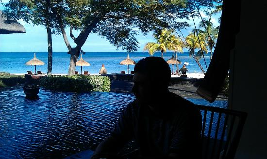 The Oberoi, Mauritius: At breakfast