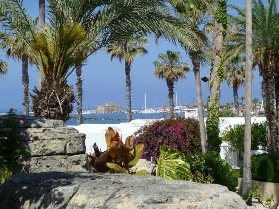 The Annabelle: le petit port vu des jardins de l'hôtel