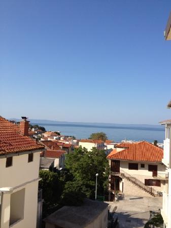 Baska Voda, Kroatia: från balkongen