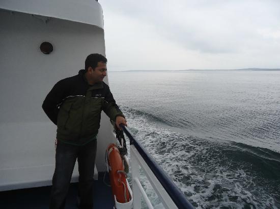 Reederei Adler-Schiffe: On the Deck