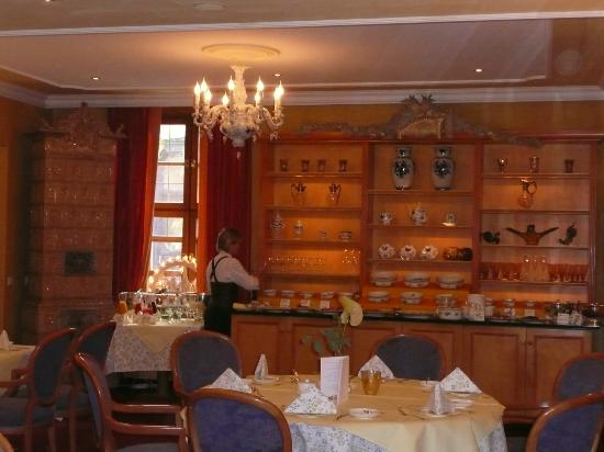 Romantik Hotel Bulow Residenz: Salle du petit dejeuner