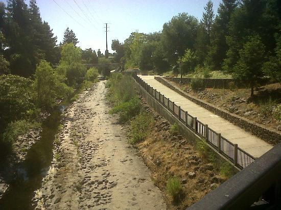 Courtyard Santa Rosa: Next to the hotel - Santa Rosa Creek