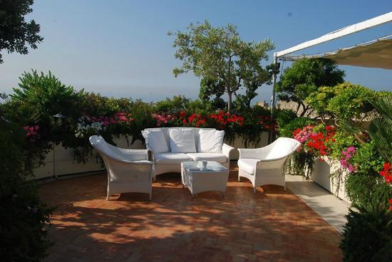 terrazza fiorita - Foto di Eurostars Hotel Excelsior, Napoli ...