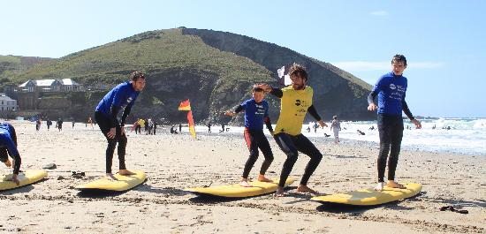West Cornwall Adventure: Surf Lessons for all