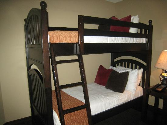 ‪لومير تيلوريد: Bunk Beds in the second bedroom‬