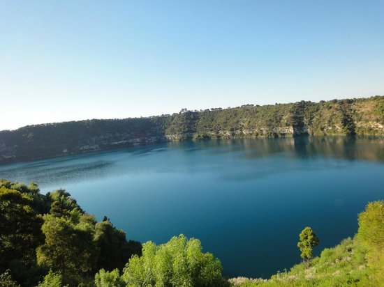 Mount Gambier, Australië: blue lake