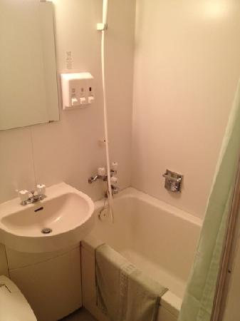 Hotel Harada in Sakura: bathroom
