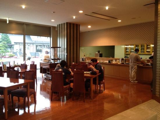 Hotel Harada in Sakura: Breakfast