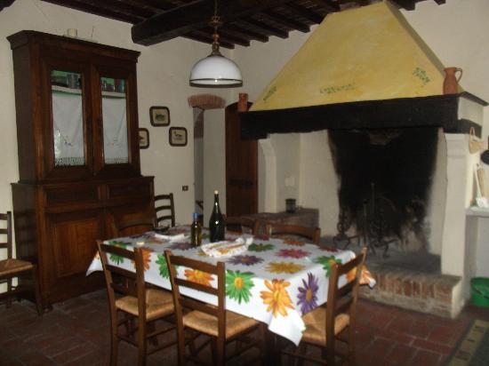 Agriturismo Le Ginestruzze Uzzano: Cozinha