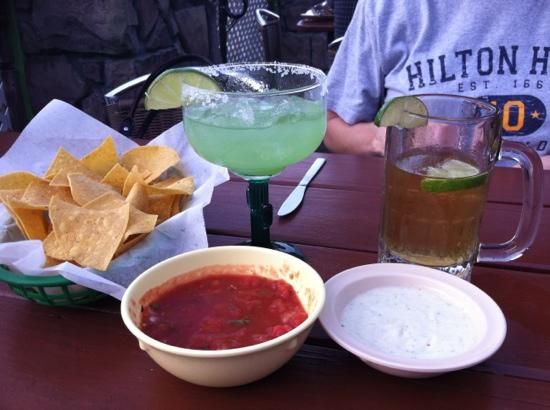 Tequila Rose Mexican Restaurant: great chips and salsa (free)