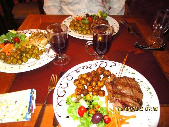 WONDERFUL meal !
