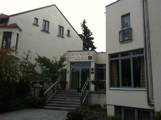 Hotel am Kurpark: Eingang