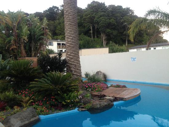 Paihia Pacific Resort Hotel : The Pool Area