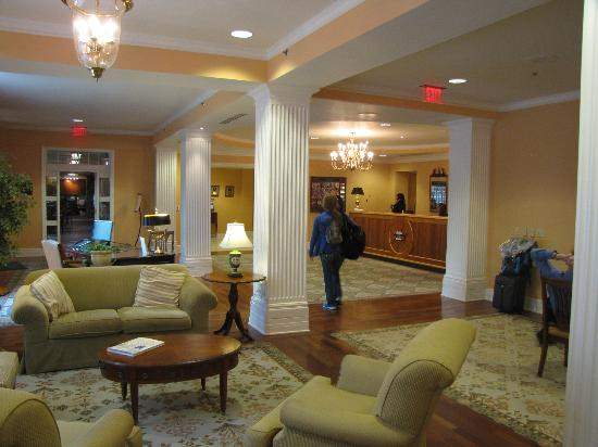 The Atherton Hotel at OSU: front desk & lobby